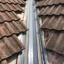 roof drainage after